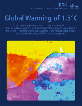 IPCC Special Report on Global Warming of 1.5 °C
